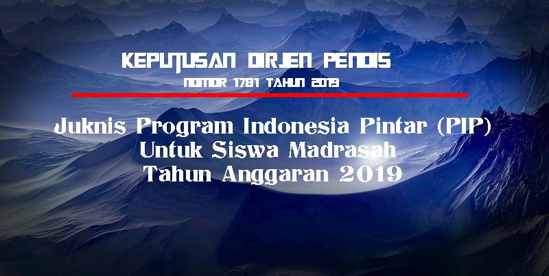 Juknis PIP Madrasah 2019