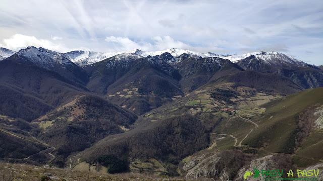 Vista de los montes de Teverga