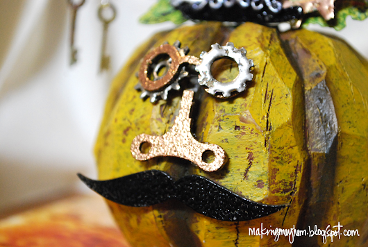 Globecraft & Piccolo - Whimsical Steampunk Pumpkin