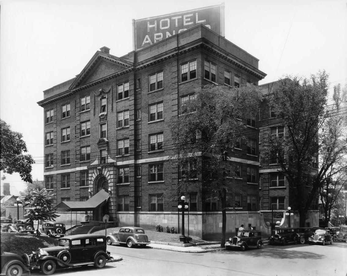 614 W  Church Avenue - The Hotel Arnold - A Twist of Fate