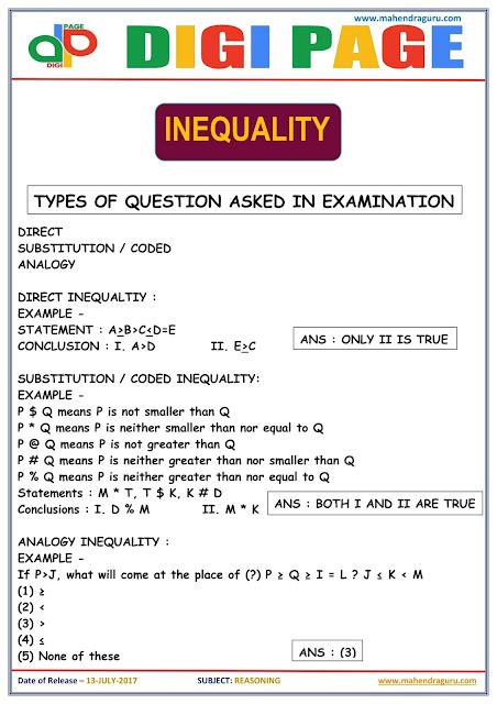 DP | Inequality | 13 - July - 17 |