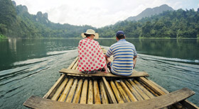 Bamboo Rafting - Best Resorts in Thekkady
