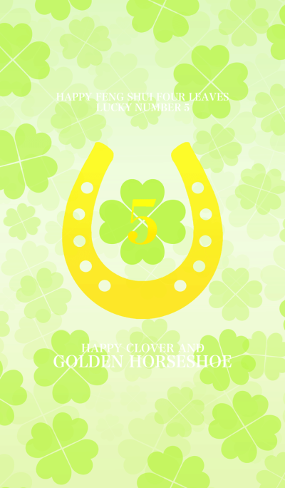 Happy clover and golden horseshoe 5