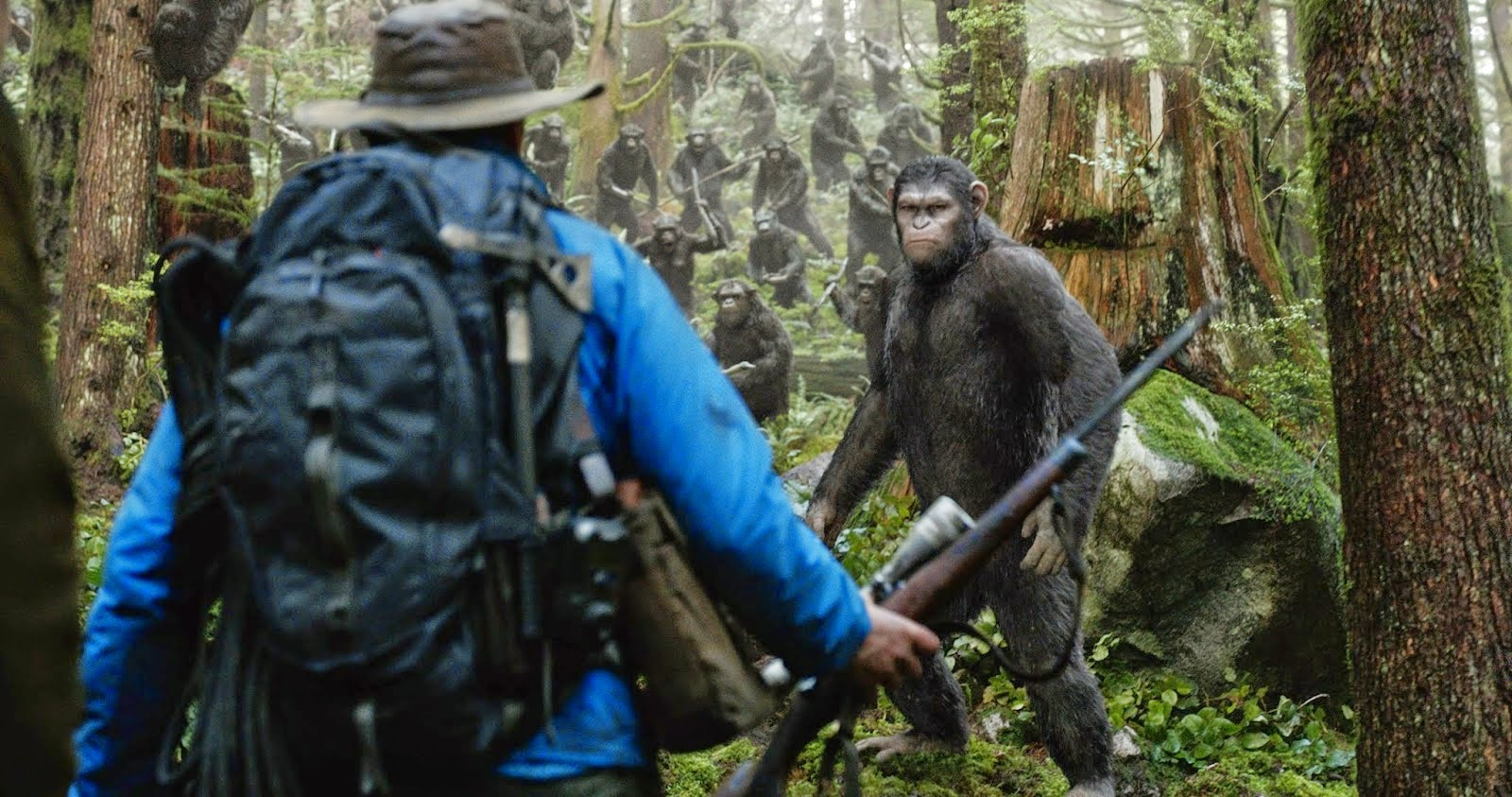 Dawn of the Planet of The Apes Subtitle Indonesia