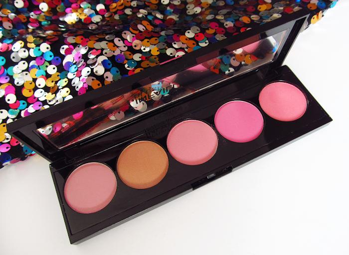 loreal blush palette pinks