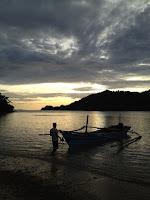 beach view at Kiluan