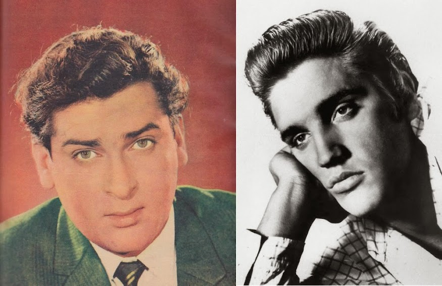Shammi Kapoor And Elvis Presley