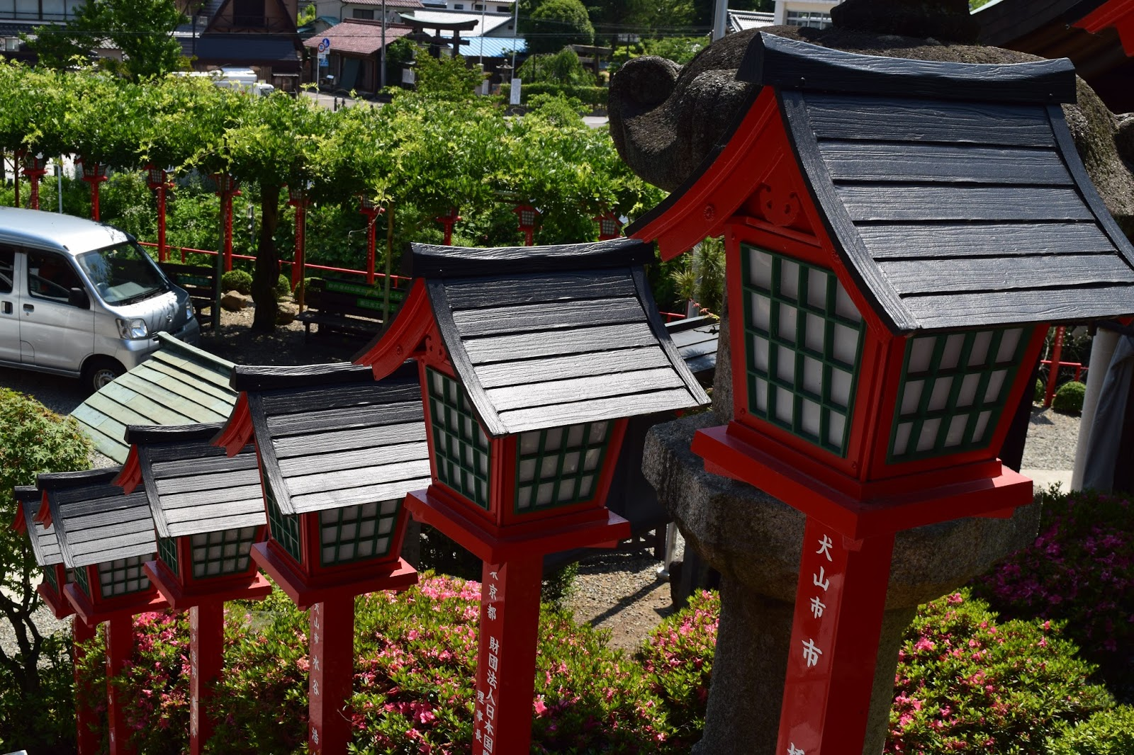 Shrine lanterns Japan