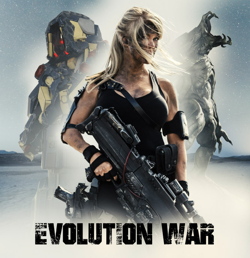 evolution war poster