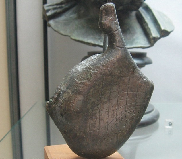 Roman object shaped like a leg of ham found to be pocket sundial