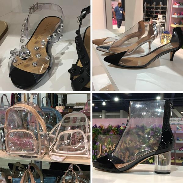 transparent shoe and bag trend