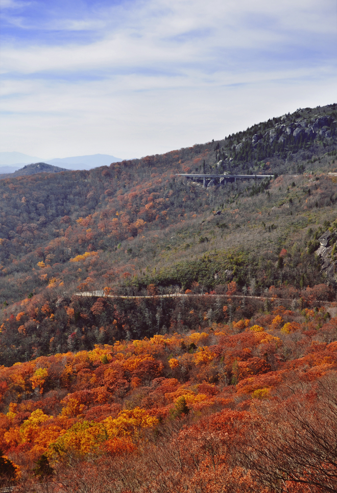 The Flying Clubhouse: Linn Cove Viaduct