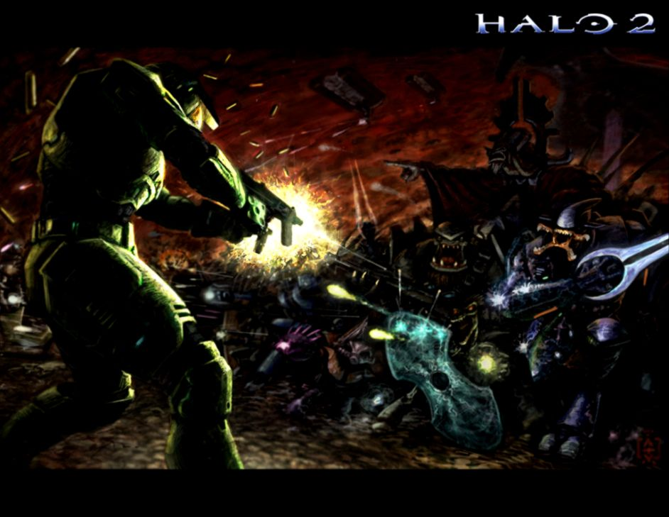 Halo 2 Combat Evolved Wallpaper | The Great Wallpapers