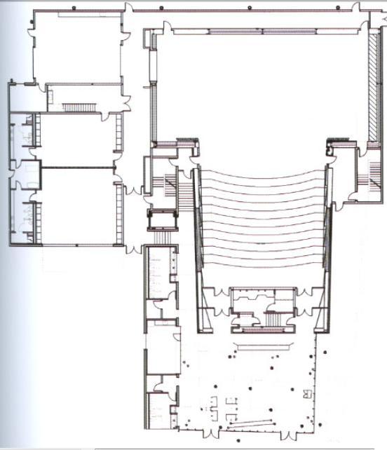 Architecture Stevie Eller Dance Theater