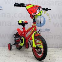 12 golden storm bmx sepeda anak Red