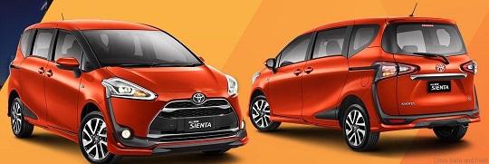 Harga & Kredit Mobil Toyota Sienta di Jakarta