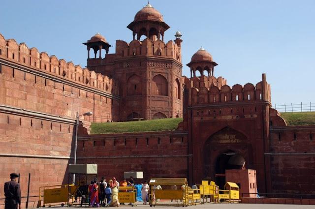 Legendary Red Fort, Delhi