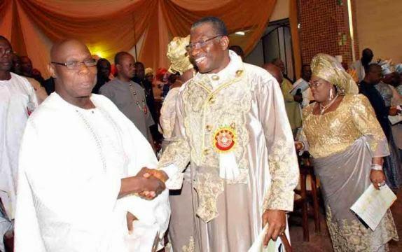 jonathan meeting obasanjo