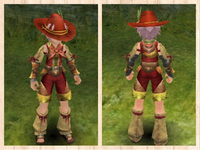 狩人の服・赤2・男