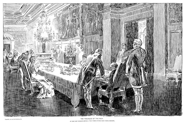Charles Dana Gibson, The Troubles Of The Rich