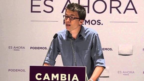 Íñigo Errejón confía en derrotar a Rajoy el 26-J