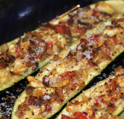 menu musings_ stuffed zucchini