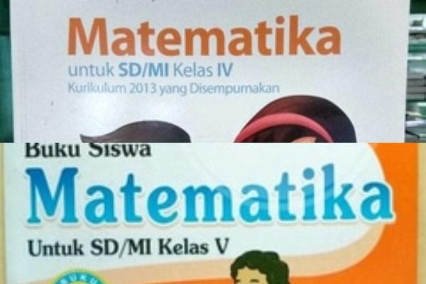 Buku Matematika Kelas 4, 5 dan 6 Kurikulum 2013 ...