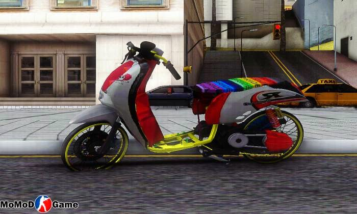 New Scoopy Drag Ala Thailand Mod GTA SA