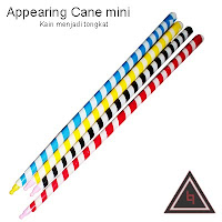 Jual alat sulap appearing cane mini