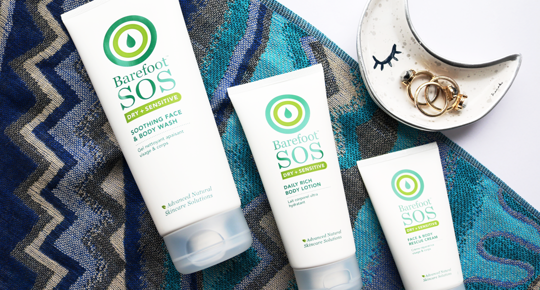 Barefoot SOS: For Sensitive, Eczema & Psoriasis prone skin