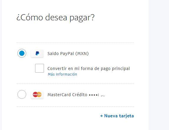 mandar dinero paypal