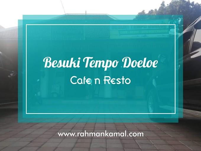 Menikmati Keindahan Arsitektur Kolonial di Besuki Tempo Doeloe Cafe n Resto