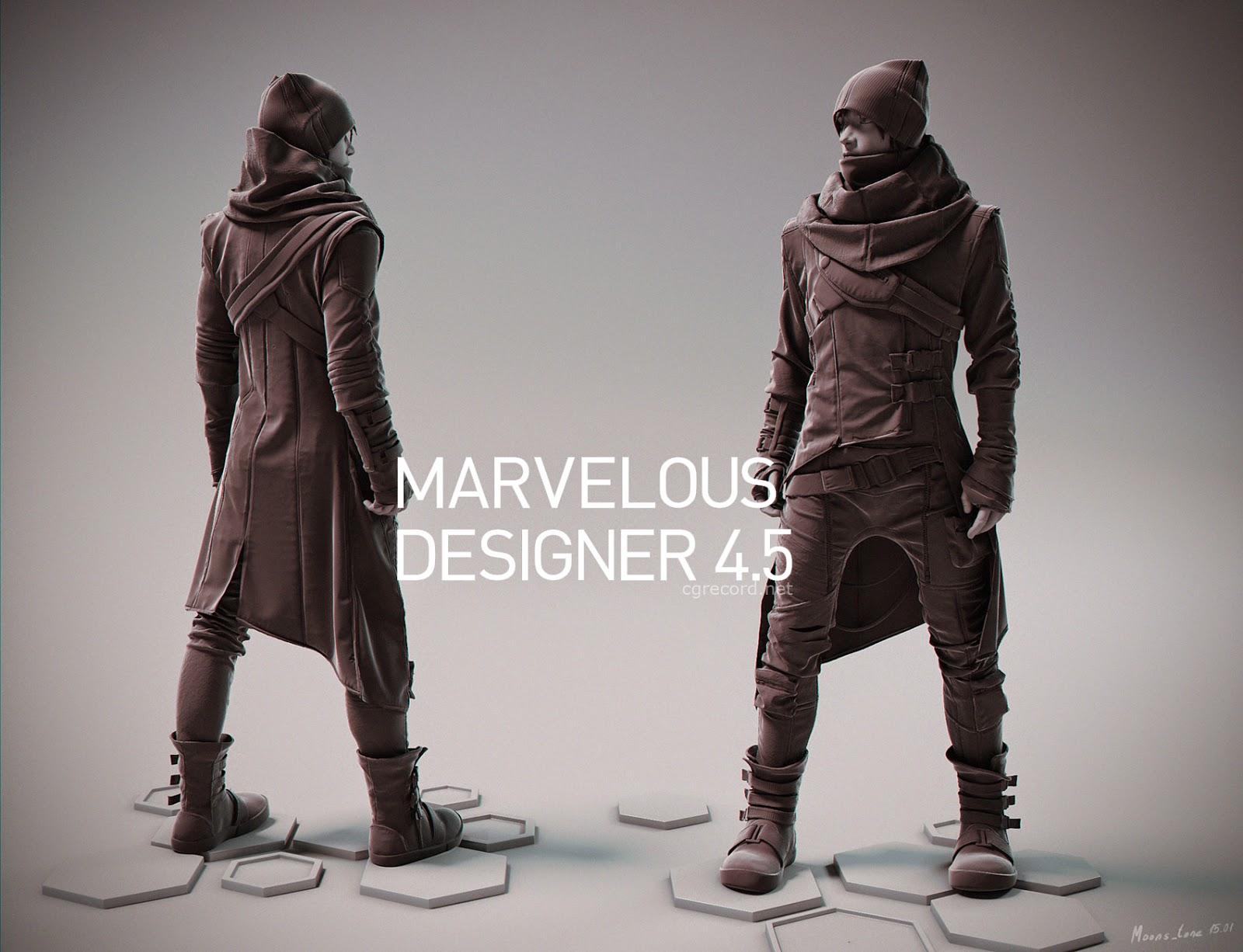 Marvelous Designer 4.5 | CG Daily News