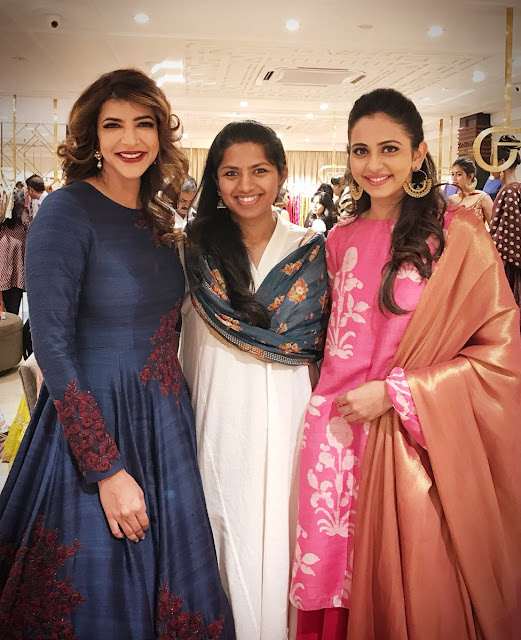 Manchu lakshmi, rakul preet singh at lakme fashion event
