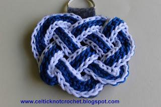 Celtic Knot Crochet Celtic Heart Knot Pin
