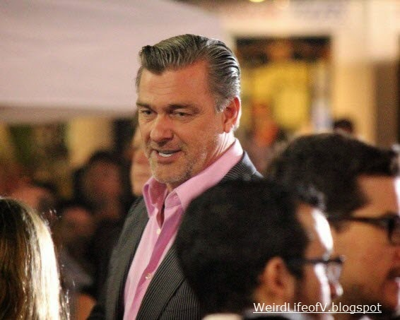 Ray Stevenson at the Thor: The Dark World premiere