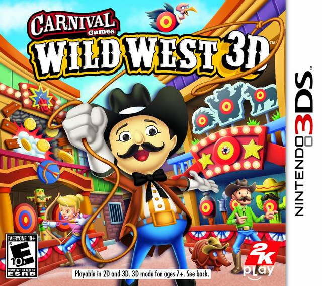 Carnival Games Wild West 3D 3DS CIA Google Drive Link ~ 3DS Hackz