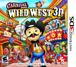 Free Download Carnival Games Wild West 3D 3DS CIA Google Drive Link