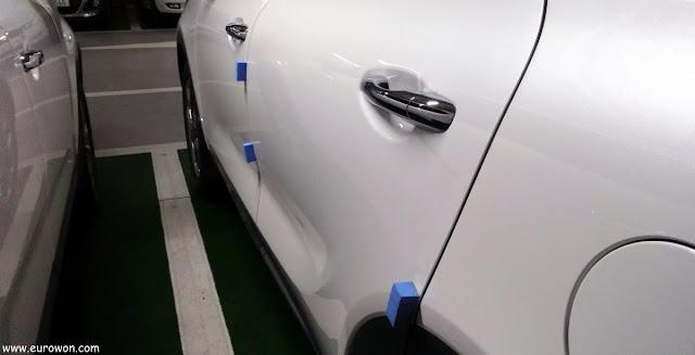 Topes para proteger coches de golpes y rayazos