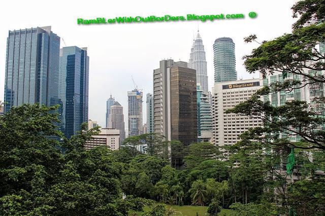 View from Bukit Nanas, KL Tower, Kuala Lumpur, Malaysia