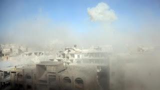 Lagi, Rezim Assad Menggunakan Gas Klorin di Ghouta Timur