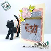 Stampin' Up! Petal Palette SU Card Idea order craft supplies from Mitosu Crafts UK Online Shop