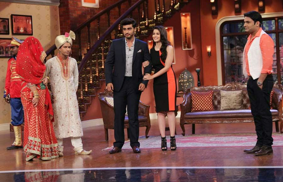 2 States Promotion On Comedy Nights
