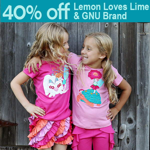 Lemon Loves Lime sale
