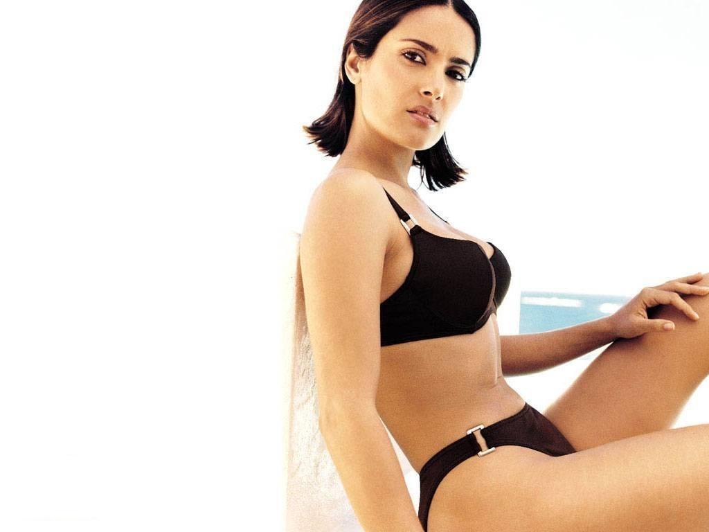 Bold Salma Hayek Hot Naked Pics Photos