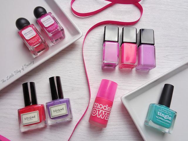Spring bright nail shades