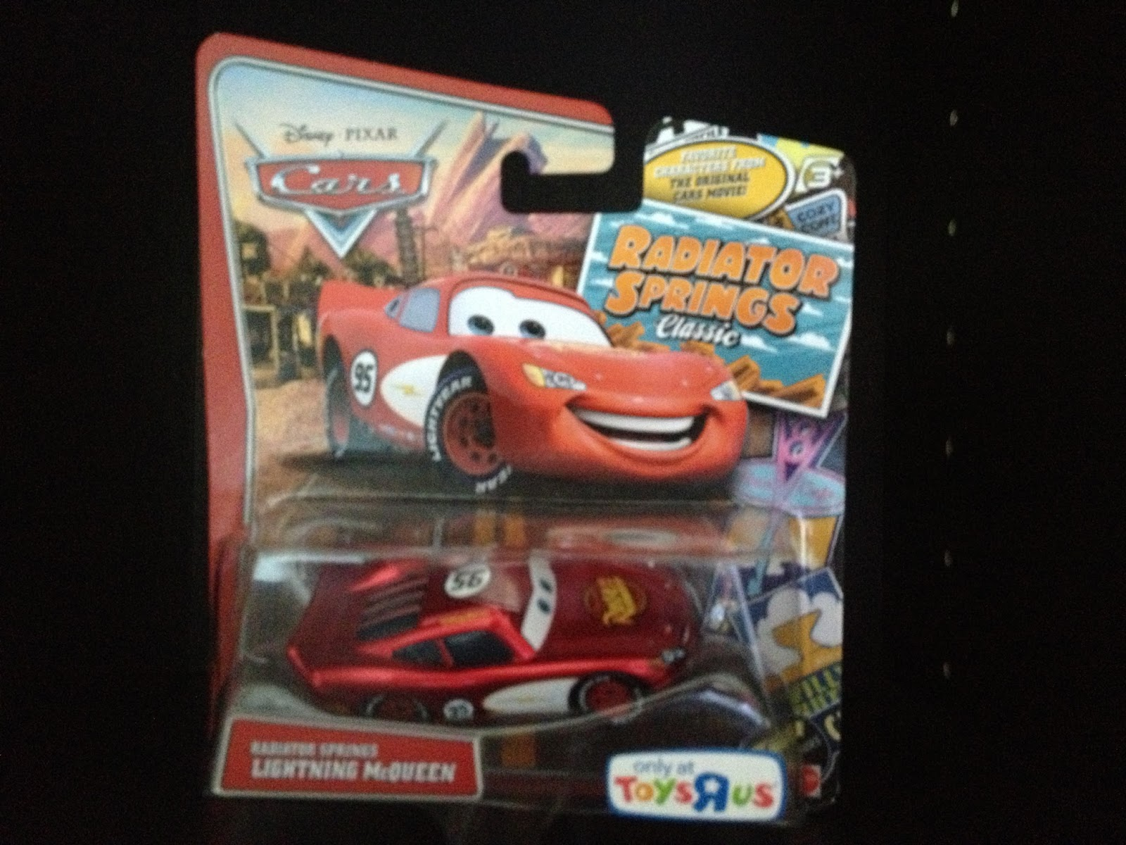 Dan The Pixar Fan Cars Radiator Springs Lightning Mcqueen