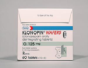 Medicamentos para trastorno de pánico Klonopin