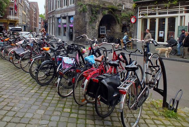 Bicis para moverse por Maastricht