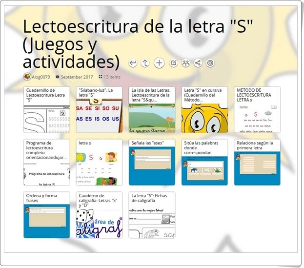 """13 Juegos, actividades y materiales para el ejercicio de la LETRA """"S"""""""